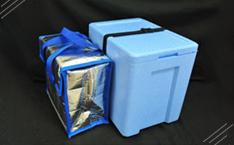 ドライアイス専用保管ボックス+コールドパック10kg用